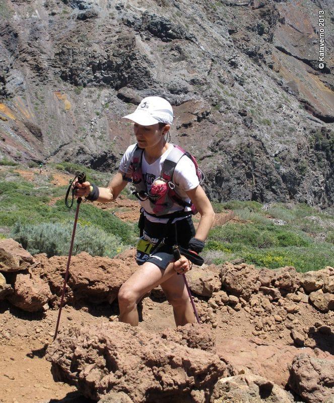 Lee más sobre el artículo Mujeres que corren en La Transvulcania 2013;  Lidia Gómez