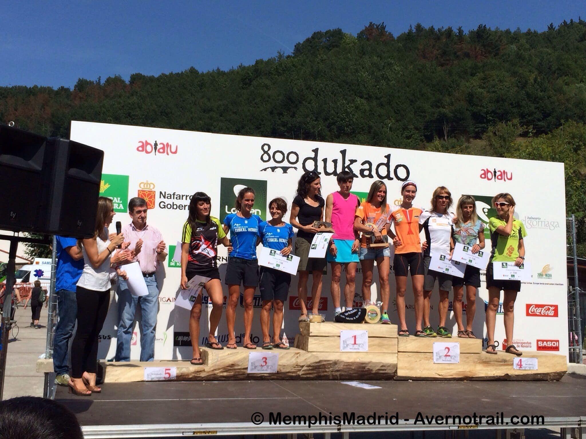 Lee más sobre el artículo Éxito en la 800Dukado, 1 maratón femenina de montaña