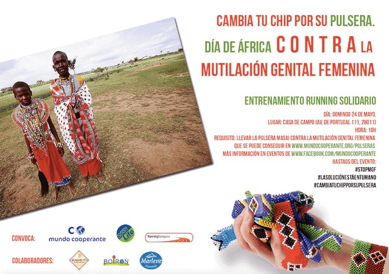Quedada contra la mutilación genital femenina