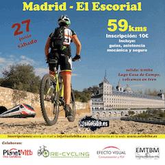 Lee más sobre el artículo Ruta MTB de Madrid a El Escorial