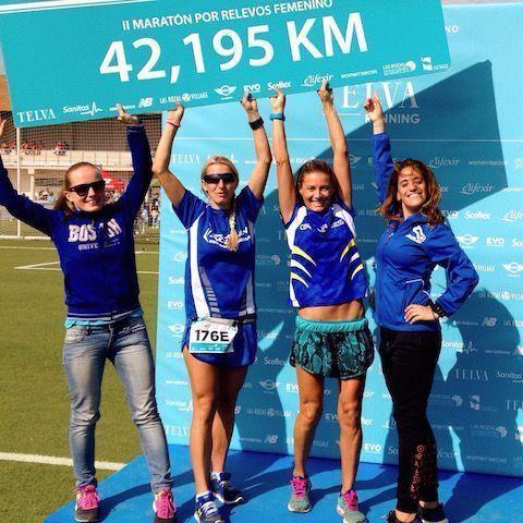 Lee más sobre el artículo II Maraton femenino por relevos Sanitas Telva
