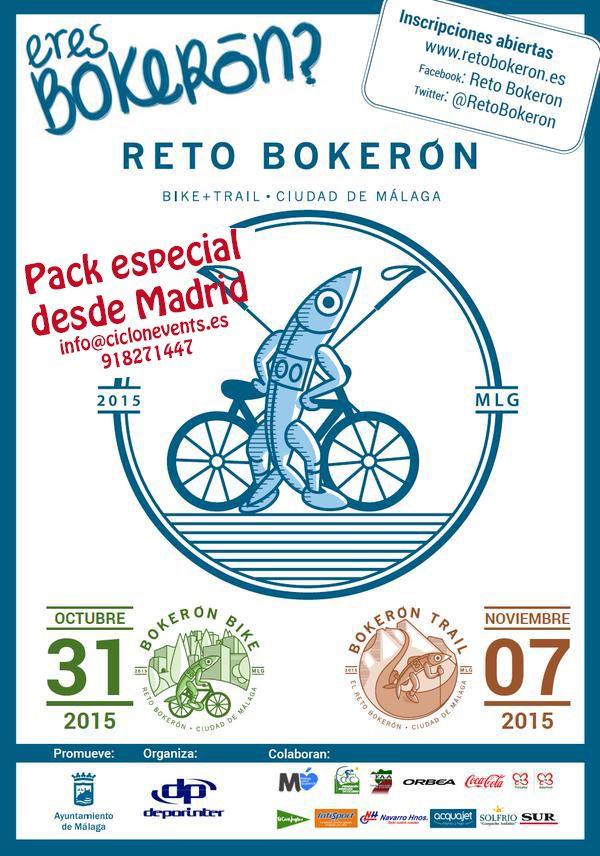 cartel retobokeron Pack especial desde Madrid
