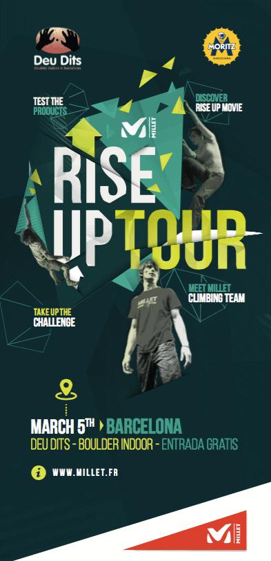 Lee más sobre el artículo La gira Rise -Up llega a Barcelona el 5 de Marzo de la mano de Millet