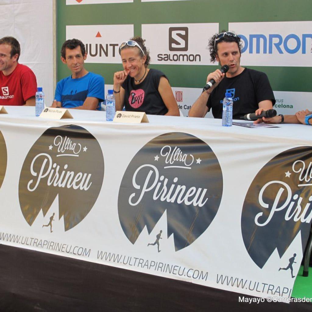 Nuria Picas en Ultra Pirineu