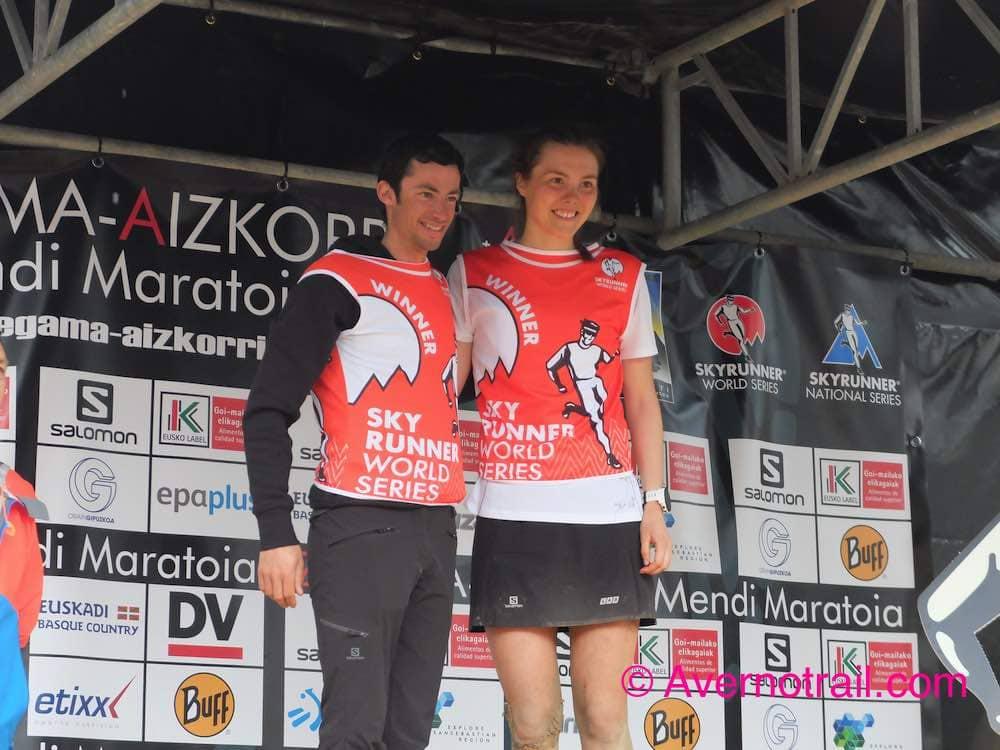 Lee más sobre el artículo Kilian Jornet e Yngvild Kaspersen ganadores de la Maraton de Zegama y galería de fotos