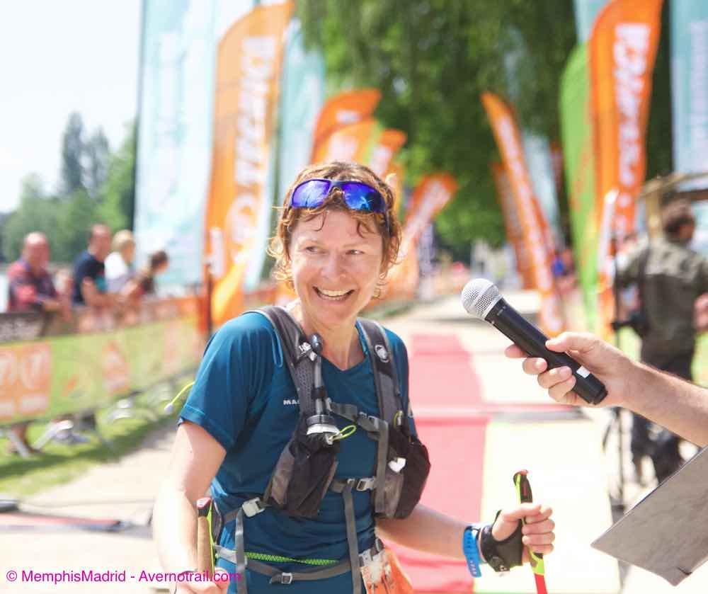 Lee más sobre el artículo En la 6ª edición de Maxi Race 86km Annecy, ganan Ludovic Pommeret y Andrea Huser