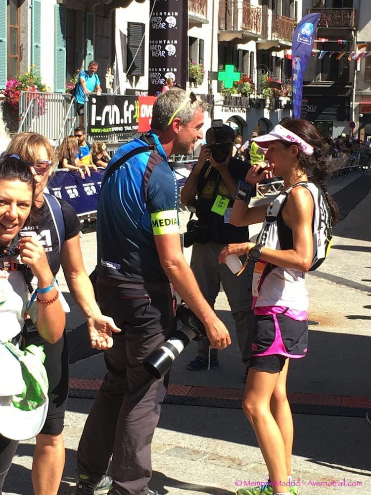 En este momento estás viendo Meta en Chamonix de los ganadores de la OCC y los últimos corredores de la TDS