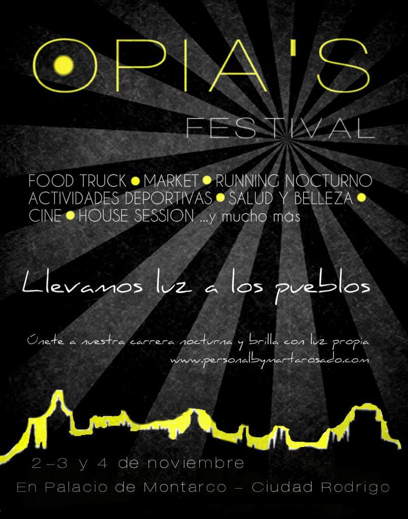 Lee más sobre el artículo Opia's Festival en Ciudad Rodrigo del 2 al 4 de noviembre
